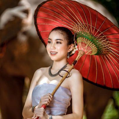I-san Traditional Dress, Northeastern | THAILAND 🇹🇭