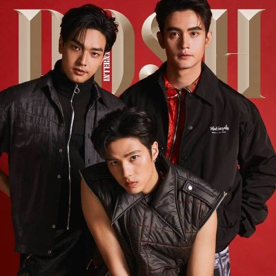 แบงค์-ธิติ ,โอบ-โอบนิธิ & ก้อง-วิทยา @ POSH Magazine Thailand