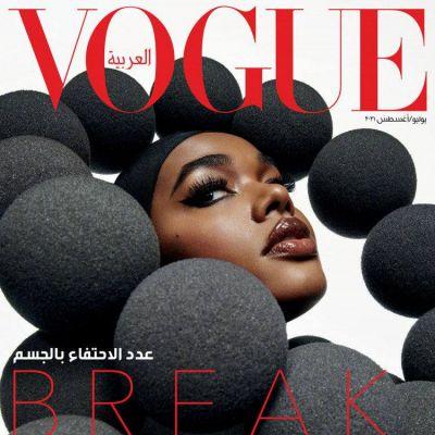 Precious Lee @ Vogue Arabia July 2021