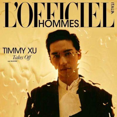 Timmy Xu @ L'Officiel Hommes Italia July 2021