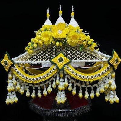 Thai floral decoration  The identity of Thai handicraft: หัตถศิลป์ดอกไม้ไทย | THAILAND 🇹🇭