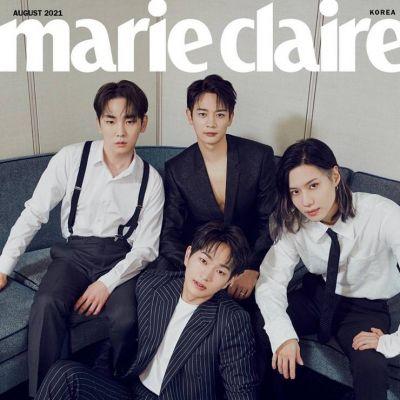 SHINee @ Marie Claire Korea August 2021