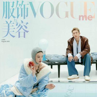 Huang Jingyu & Qiu Tian @ VogueMe China August 2021