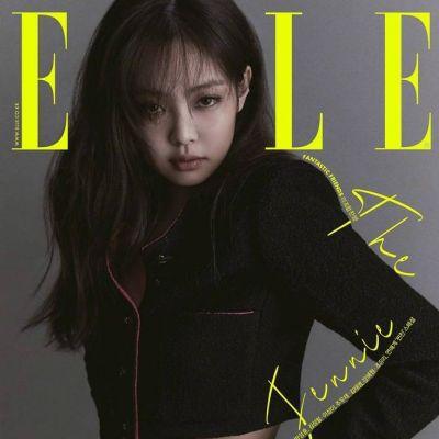 Jennie (BLACKPINK) @ ELLE Korea August 2021