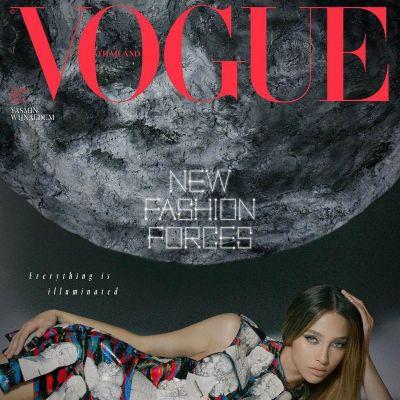 Yasmin Wijnaldum @ Vogue Thailand August 2021