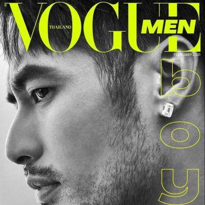 บอย-ปกรณ์ @ Vogue Men Thailand February 2021