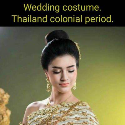 Cambodia wedding costume : ชุดวิวาห์แบบไทยสวยๆโดยเจ้าสาวกัมพูชา: Khmer wedding dress ♥️♥️