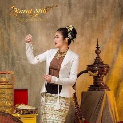 Myanmar wedding dress:สีสันอาเซียน ชุดเจ้าสาวชาวเมียนมาร์ งดงามหรูหราสมกับแหล่งอารยธรรม
