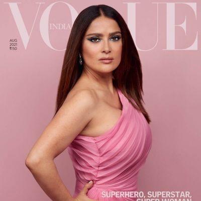 Salma Hayek @ Vogue India August 2021