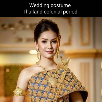 Cambodia wedding costume : สีสันเอเชีย: ชุดไทยโดยเจ้าสาวกัมพูชา: Khmer wedding dress ♥️