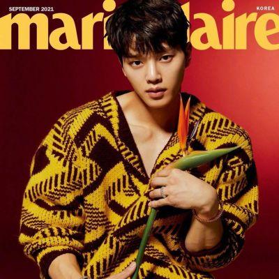 Song Kang @ Marie Claire Korea September 2021