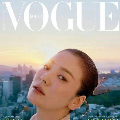 Song Hye Kyo @ Vogue Korea September 2021