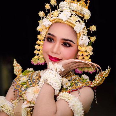 รำกินรีทรงเครื่อง: Kinnaree Song krueng dance | THAILAND 🇹🇭