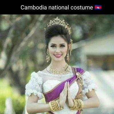 Cambodia national costume:🇰🇭ชุดประจำชาติกัมพูชา:Sampot: cambodia wedding dress:Traditional cambodian dress