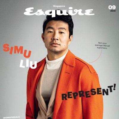 Simu Liu @ Esquire Singapore September 2021
