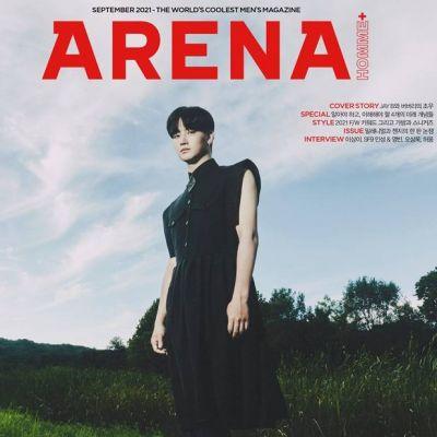 JAY B @ Arena Homme Plus Korea September 2021