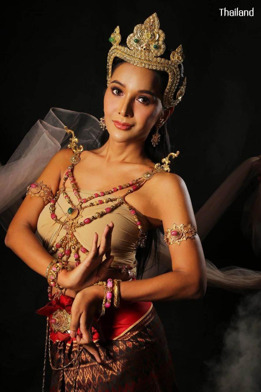 ทวารวดี -The Ancient Outfit of Dvaravati Era | THAILAND 🇹🇭