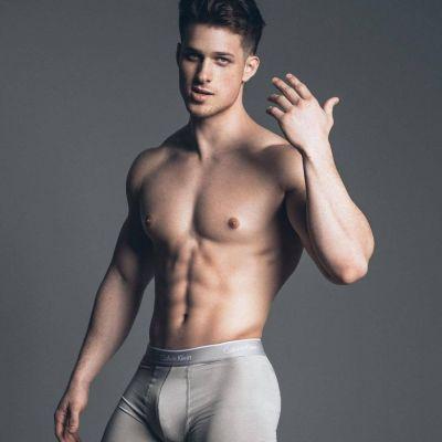 นายแบบกางเกงใน Calvin Klein 1