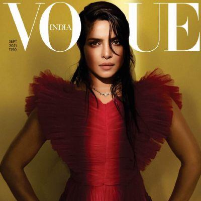 Priyanka Chopra Jonas @ Vogue India September 2021