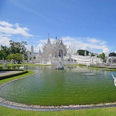 THAILAND 🇹🇭:Wat Rong Khun: The White Temple of Chiang Rai, Thailand
