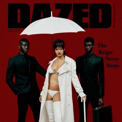 Rihanna @ Dazed Autumn 2021
