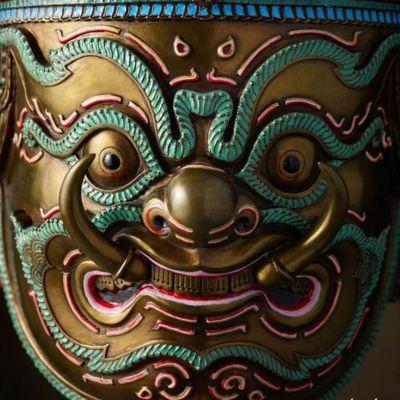 THOTSAKAN (RAVANA): Thai Khon Mask | THAILAND 🇹🇭