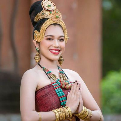 ทวารวดี ภาคอีสาน -The outfit of Dvaravati Era in Northeastern Thailand | THAILAND 🇹🇭
