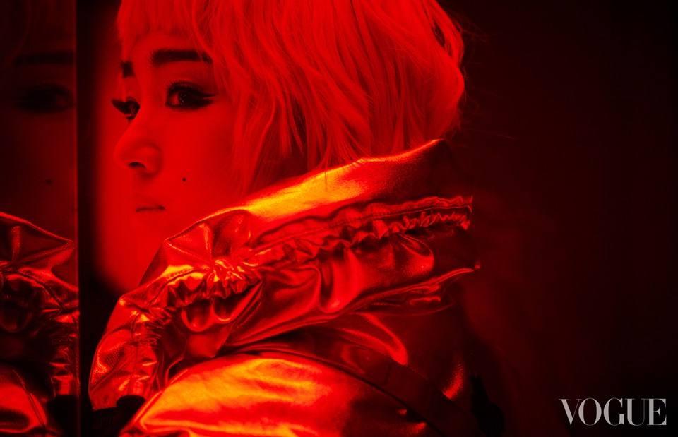 Gong Li @ Vogue China October 2021