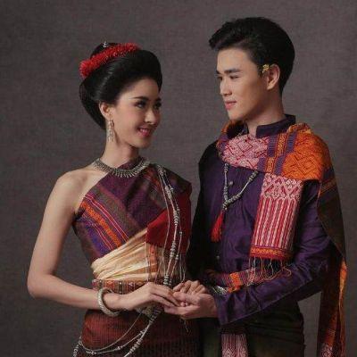THAILAND 🇹🇭 | Isan traditional costume, ชุดอีสาน
