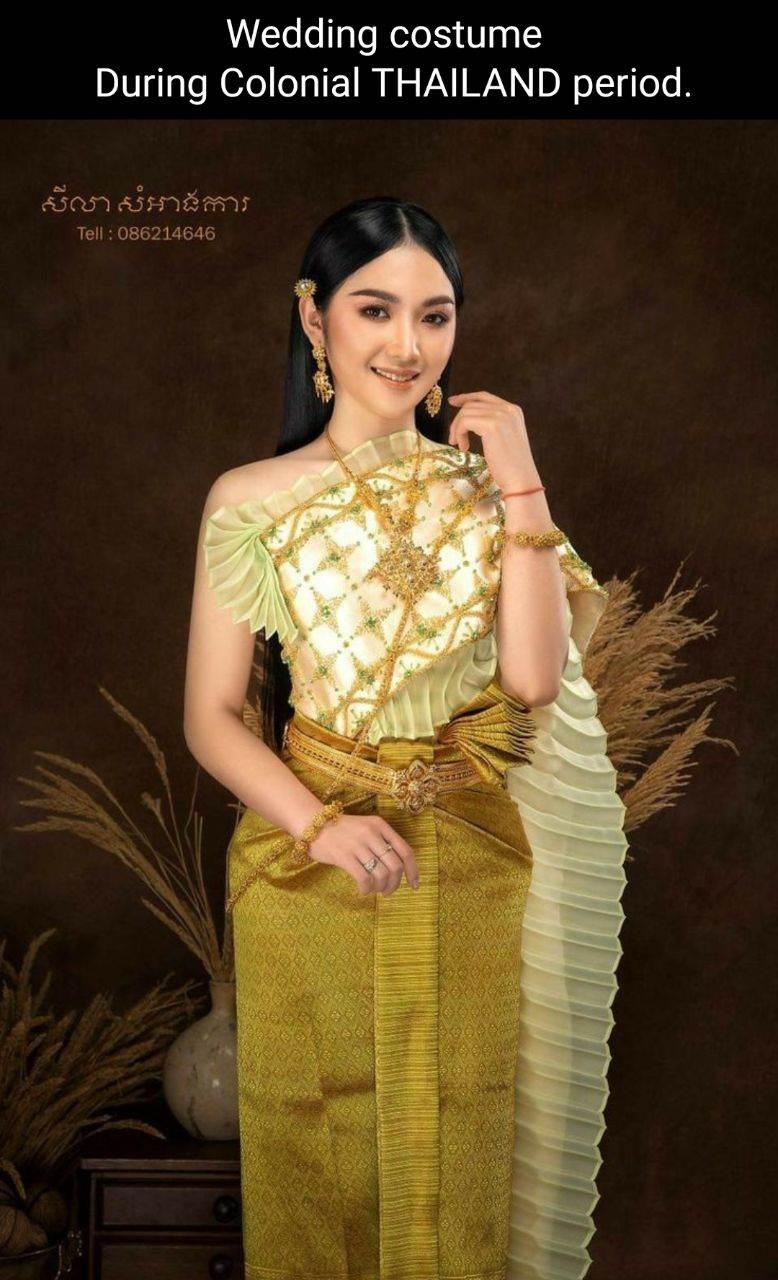 Thai dress in Cambodia