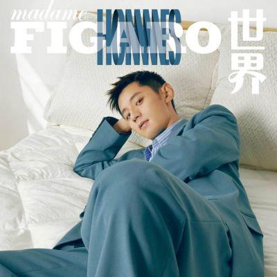 Zhang Jike @ Madame Figaro Hommes China October