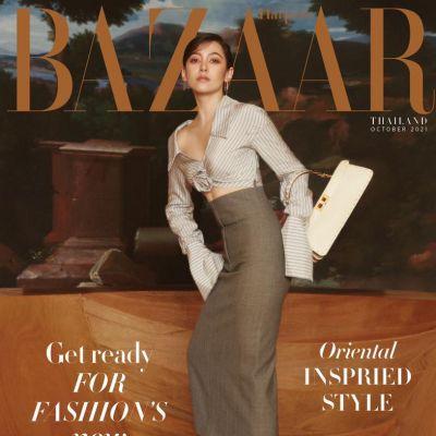 เบลล่า ราณี @ Harpers Bazaar Thailand October 2021
