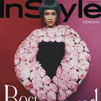 Zendaya @ InStyle US November 2021