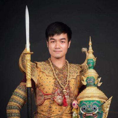 """""""รำลงสรงโทนท้าวกรุงพาณ"""" Khon masked dance drama in Thailand   THAILAND 🇹🇭"""