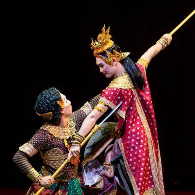 กาตยานี   The Story of Goddess Maheshwari: Thai Performance   THAILAND 🇹🇭