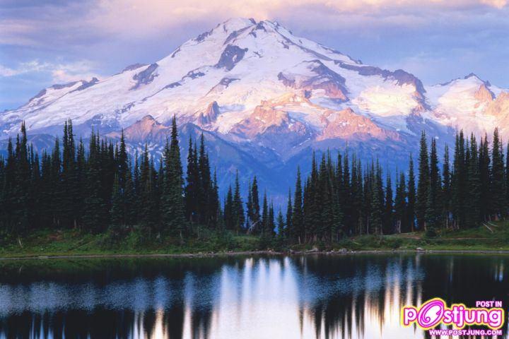 Image Lake Glacier, Peak Wilderness, Was