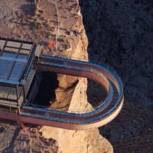 ทางเดินกระจก เหนือแกรนด์แคนย่อน ( Glass Walkway Over Grand Canyon )