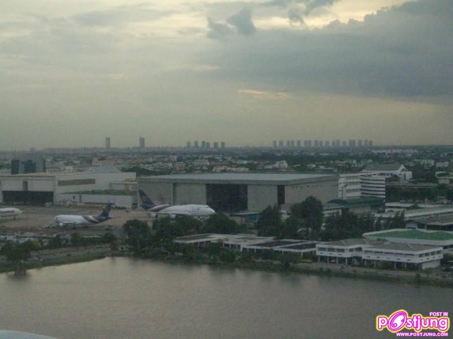 ตัวอำเภอปากเกร็ด มองจากชานเมืองกรุงเทพฯ