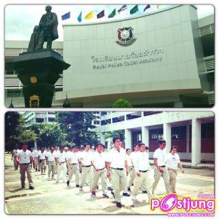 เป็นภาพขณะไปฝึกอบรมหลักสูตรเจรจาต่อรองที่โรงเรียนนายร้อยตำรวจสามพรานเมื่อวันที่ 12 ก.ย.56