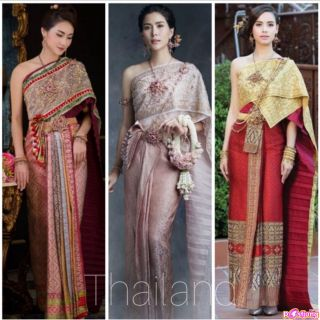 Thailand's national costumes(Chut Thai Chakkraphat)
