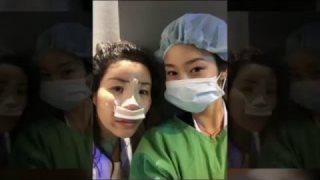 ศัลยกรรมเกาหลี : รีวิวศัลยกรรมแก้จมูก+ฉีดไขมันใบหน้า ตอน 2/3(ผ่าตัด)