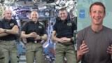 ล้ำสุดๆ เจ้าพ่อเฟซบุ๊กโชว์Live สดนักบินอวกาศ Part 1/2