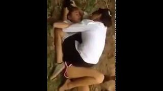 Lao Beautiful Girl fighting for penis