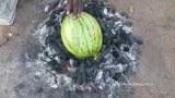เซฟลุงอินเดีย ทำเมนูแปลกๆ ไข่อบแตงโม