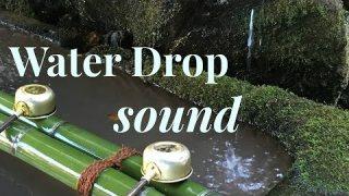 ภาพเสียง กระทบน้ำ หยดติ๋ง Water drop sound