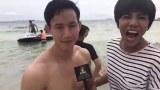 Live ! สัมภาษณ์นายแบบ ถ่ายชุดว่ายน้ำหนุ่มหล่อ 77 จังหวัด Mister Supranation Thailand 2017