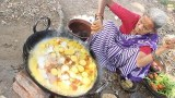 ยายอินเดีย โชว์เมนู   แกงไข่   สไตล์อินเดีย
