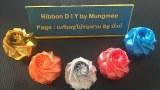 EP.2 : ประดิษฐ์ริบบิ้น วิธีทำกุหลาบแย้ม(Roses DIY) I RIBBON DIY BY MUNGMEE : งานริบบิ้น ART