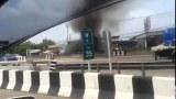 คลิปอุบัติเหตุด่วน! รถชนตกเกาะกลาง นนทบุรี บางใหญ่