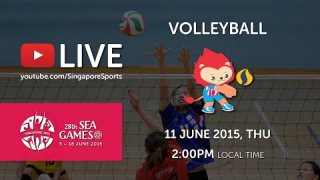 Volleyball Women's Thailand vs Myanmar (Day 6) | 28th SEA Games Singapore 2015